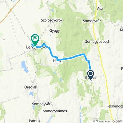 Gamás - L.tóti - Gamás (40km)