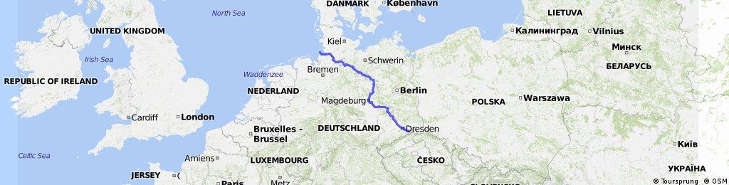 Elberadweg Bikemap Your Bike Routes