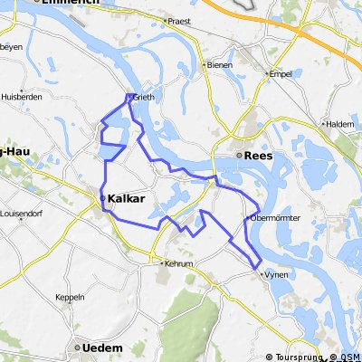 Kalkar-Vynen-Obermörmter-Hönnepel-Grieth-Wissel