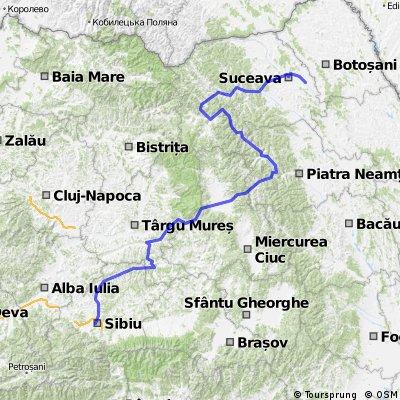 Sibiu (Sibiu) - Suceava (Veresti)