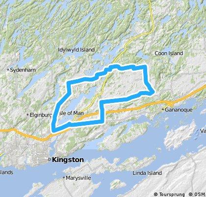 Kingston: Kingston Mills - Brewers Mills Meander (65km)