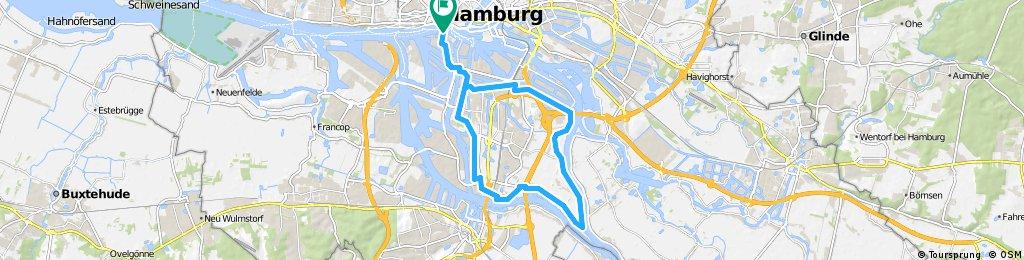 alter Elbtunnel Wilhelmsburg