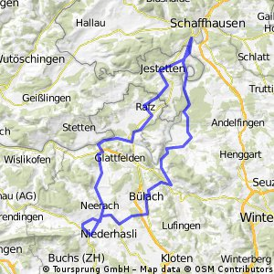 Steinmaur-Rheinfall Runde  CLONED FROM ROUTE 134328