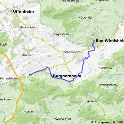 Steinach - Bad Windsheim