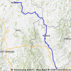 Etappe 13: Moulins-La Fouillouse