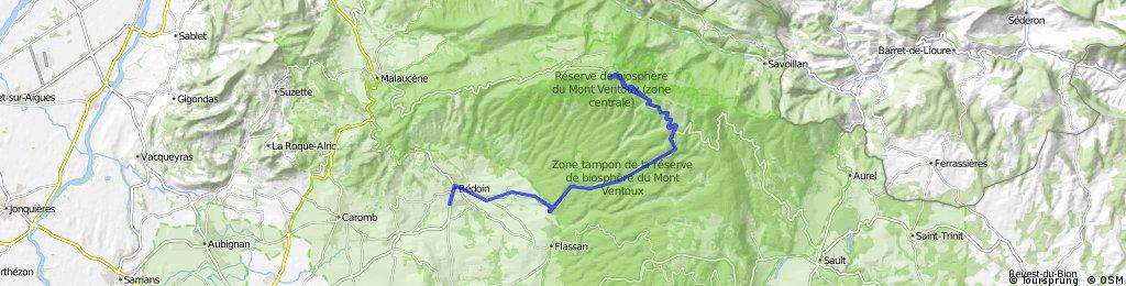 Mont ventoux at night