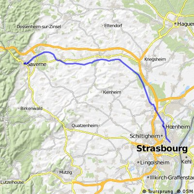 Strasbourg-Saverne (Canal) CLONED FROM ROUTE 1038917