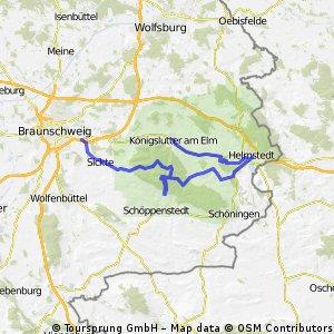 Pfingsten 2011 Hauptteil Elm-Helmstedt und nach Königslutter
