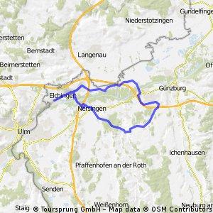 Rundtour Thalfingen - Leipheim
