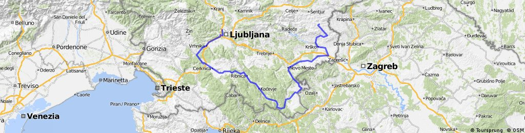 DOS-jugovzhod-Kozjansko-NM-Kočevje-Cerknica-LJ