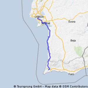 Lagos - Lisboa CLONED FROM ROUTE 883496