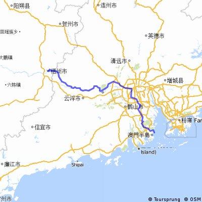 珠海码头-广西梧州