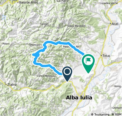 Proiect - Iezer Ighiel - Valea Galzii