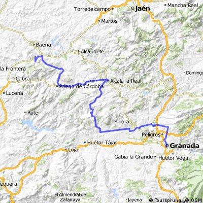 Granad -Córdoba- Ruta del Califato CLONED FROM ROUTE 303057