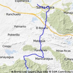 1. Etappe: Santa Clara - Hanabanilla