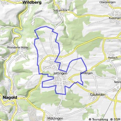 Radrundweg Jettingen