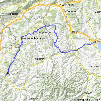 burgdorf - langenthal - sursee