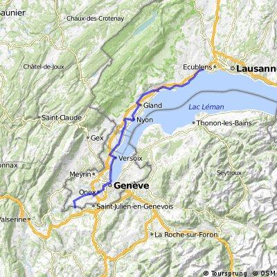 Preverence- Viry (Route de Sezegnin)