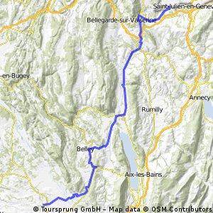 Viry (Route de Sezegnin)- Corbelin