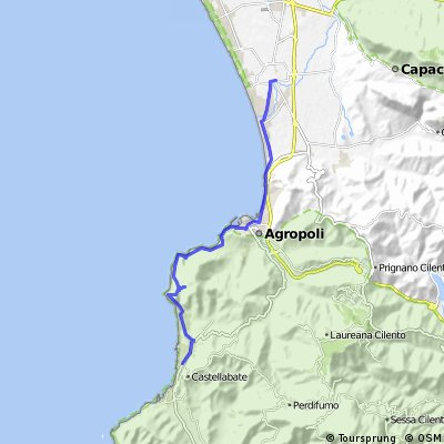 Cilento cycling routes - Italy - world heritage - bike rental services and excursions
