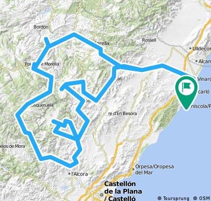 Viatge interior, en bici per l´Alt Maestrat