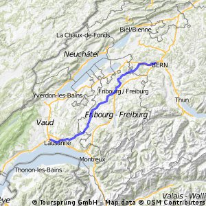 IWRY. Stage 3. Duebendorf - Renens (part 2)