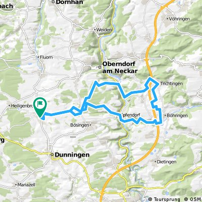 40 km cycling route for mountain bikes in baden w rttemberg bikemap your bike routes. Black Bedroom Furniture Sets. Home Design Ideas
