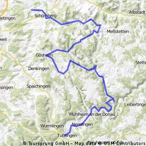 Tappa 3: Tuttlingen - Schomberg