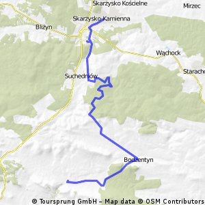 Góry Świętokrzyskie - I Etap