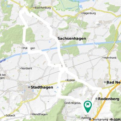 Apelern-Bergkirchen-Campingplatz Zum Erlengrund und zurück