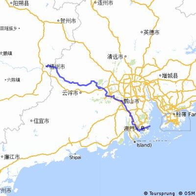 珠海码头-广西梧州(2)