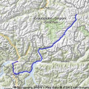 Ticino via Engadin