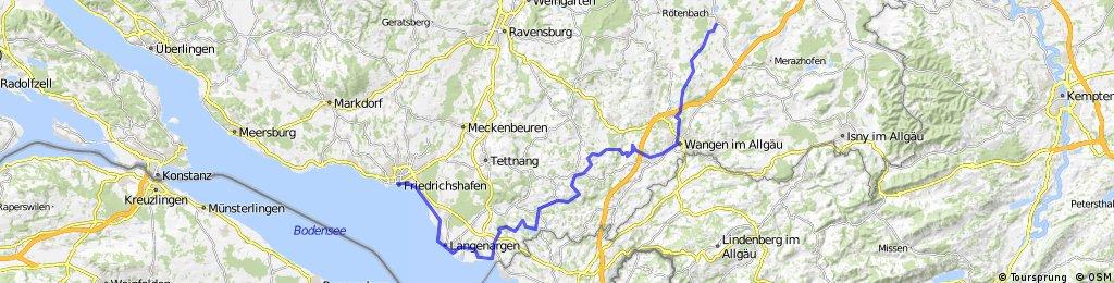 D-B 05 a Friedrichshafen - Kisslegg