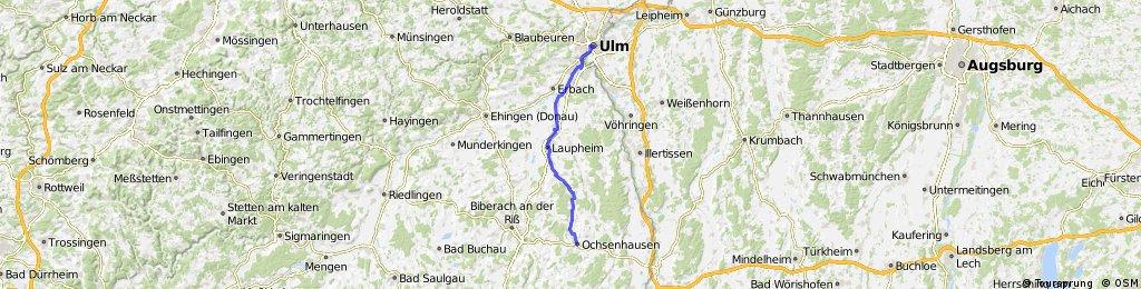 D-B 07 a Ochsenhausen - Ulm
