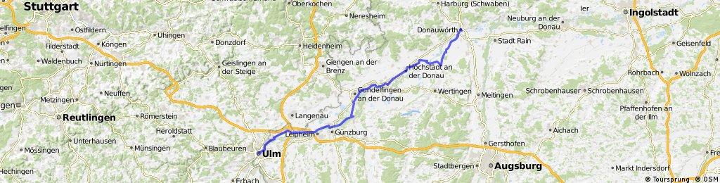 D-B 08 a Ulm - Donauwoerth