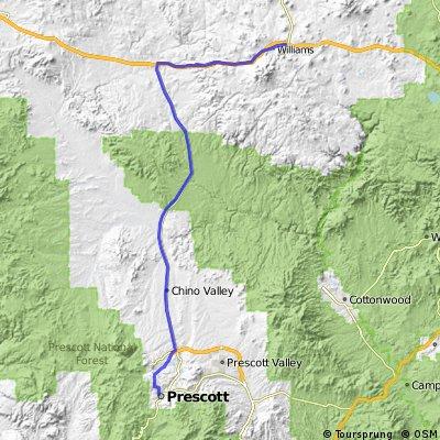 Prescott to Williams - Stage 4