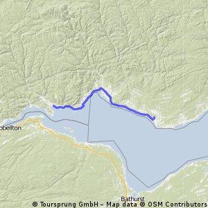 Bonaventure èa Nouvelle (75km)