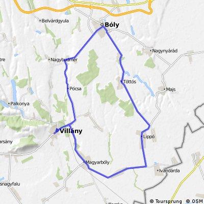 Tour de Pécs 2011. VIII.  VILLÁNY Nagydíj  2011. 08. 20.