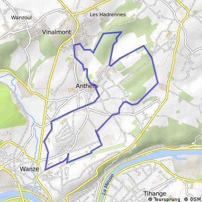 VTT Wanze 13km