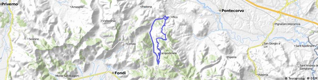 Campodimele - S.Onofrio - Valle Vona  - Pico