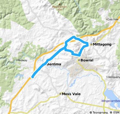 Holiday ride to Mittagong