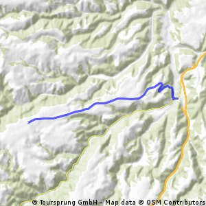 Cycling the Alps Cote de Massiac (0753m)