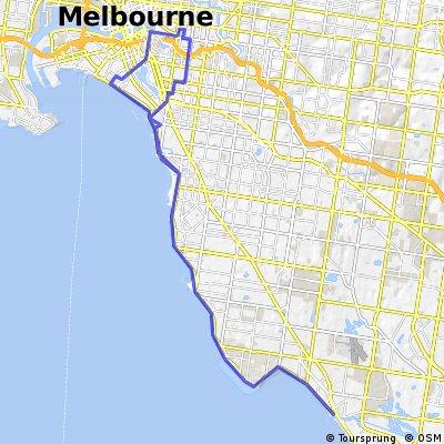 Richmond to Mordialloc