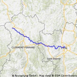 Montlucon - Lyon