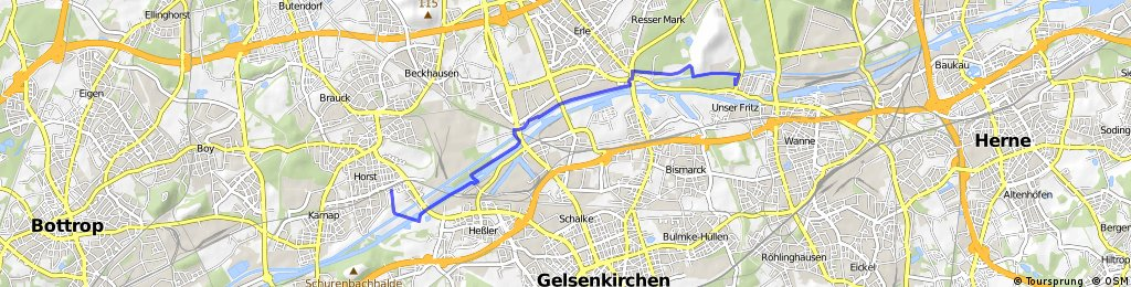 GE-Horst, Nordsternpark - Herne, Gut Steinhausen