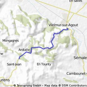 Cycling the Alps Cote de Puylaurens (0322m)