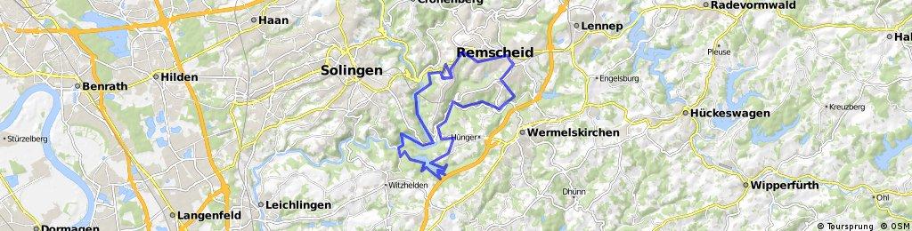Werkzeugtrasse-Münsten-Burg Sengbachtalsperre-Eschbachtal