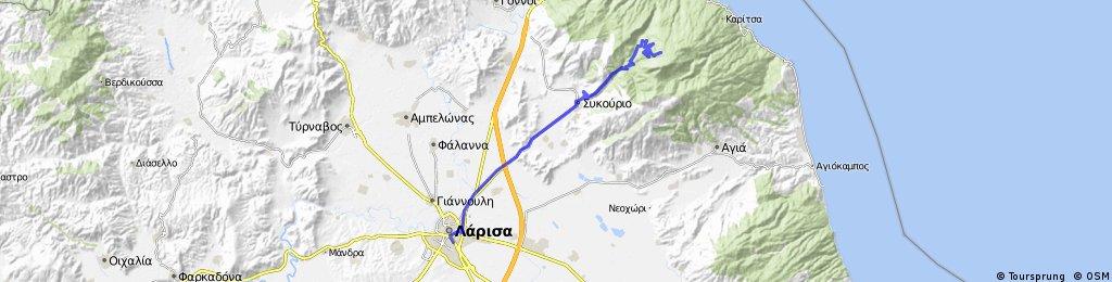 Larisa-Spilia-Kissavos refuge