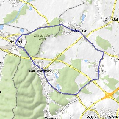 Römersee TRI - Radstrecke