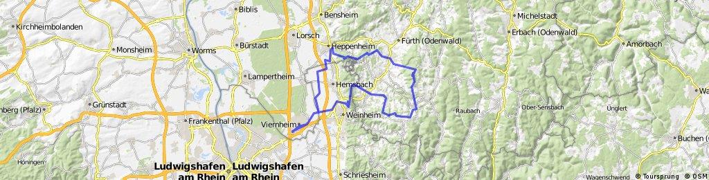 Vhm-Hirschkopf-Götzenstein-Kreidacher Höhe-Tromm-Juhöhe-Vhm